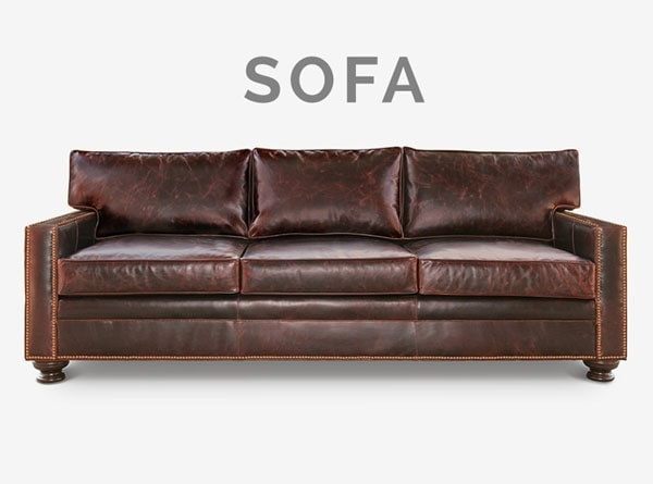 Heston Track Arm Sofa