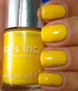 31 Inspired Days of Nail Art – Day 3 : Yellow