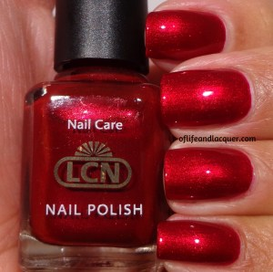 LCN Ruby Red Swatch