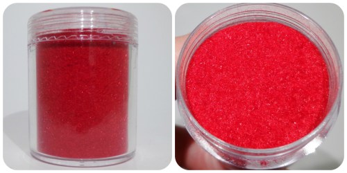 Born Pretty Store Red Flocking Powder