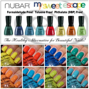 Nubar My Sweet Escape Collection Spring 2013