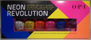 OPI Neon Revolution Minis