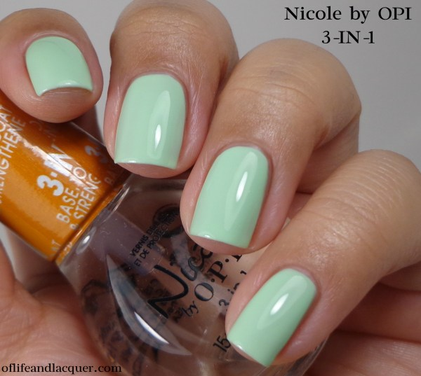 Nicole by OPI 3-IN-1a