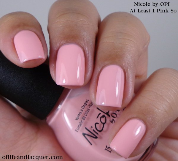 Nicole by OPI At Least I Pink So 1a