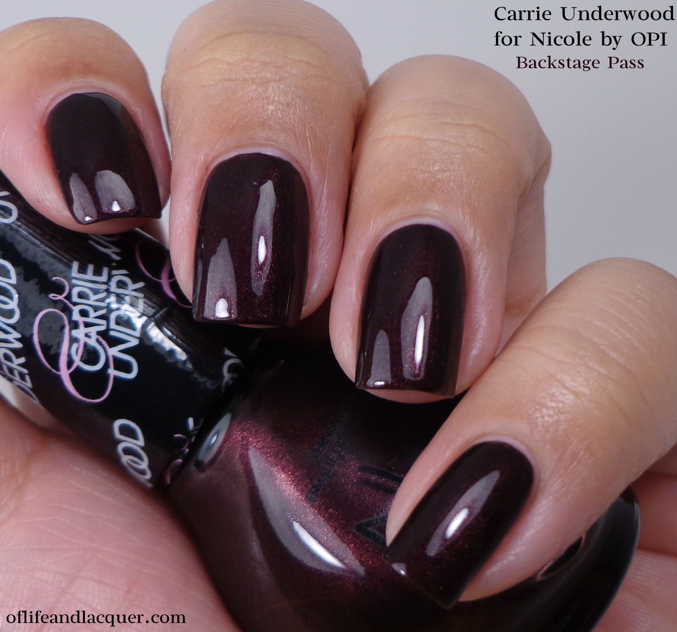 Nicole by OPI Backstage Pass 1a - Of Life and Lacquer