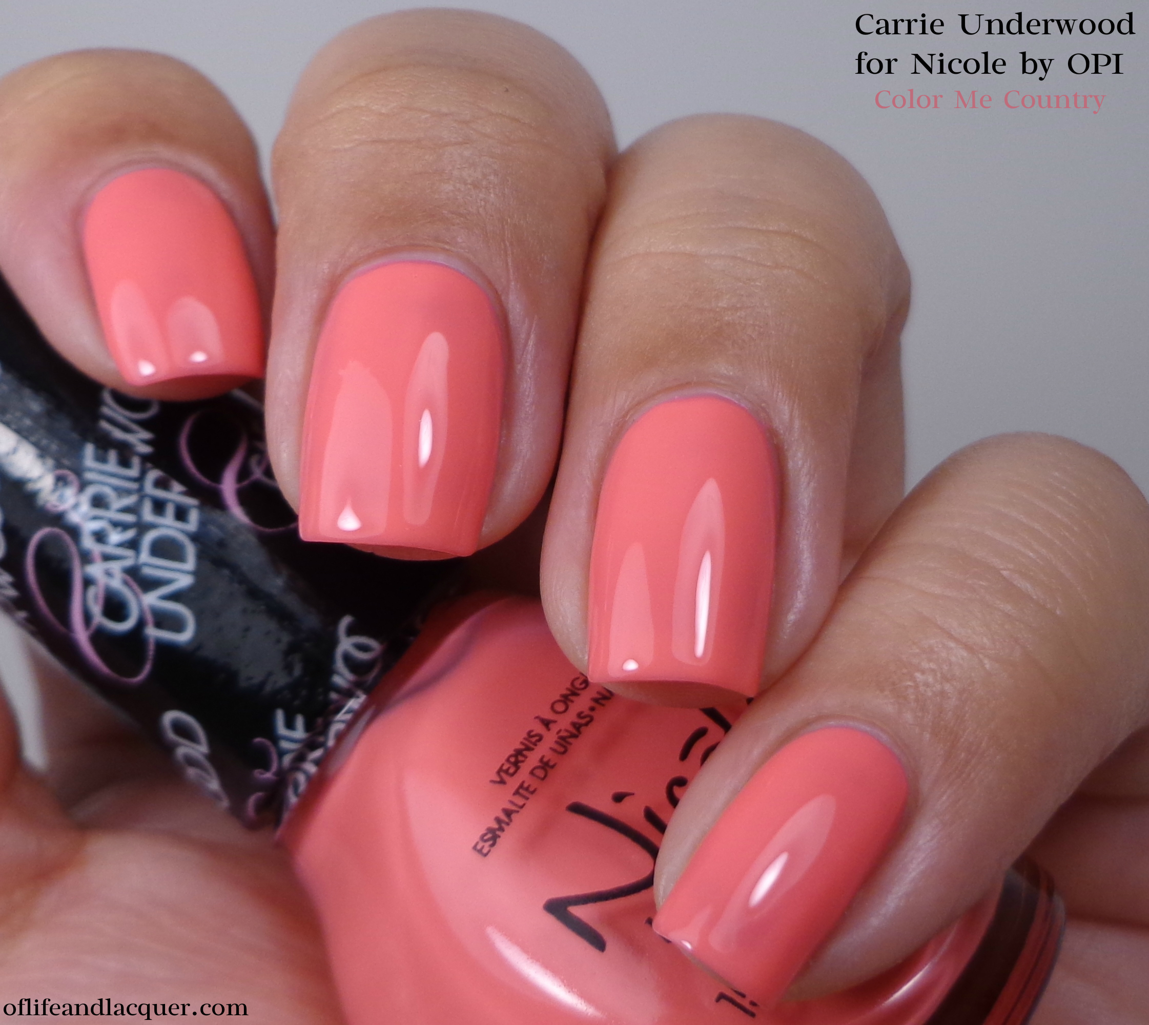 Nicole by OPI Color Me Country 1a - Of Life and Lacquer