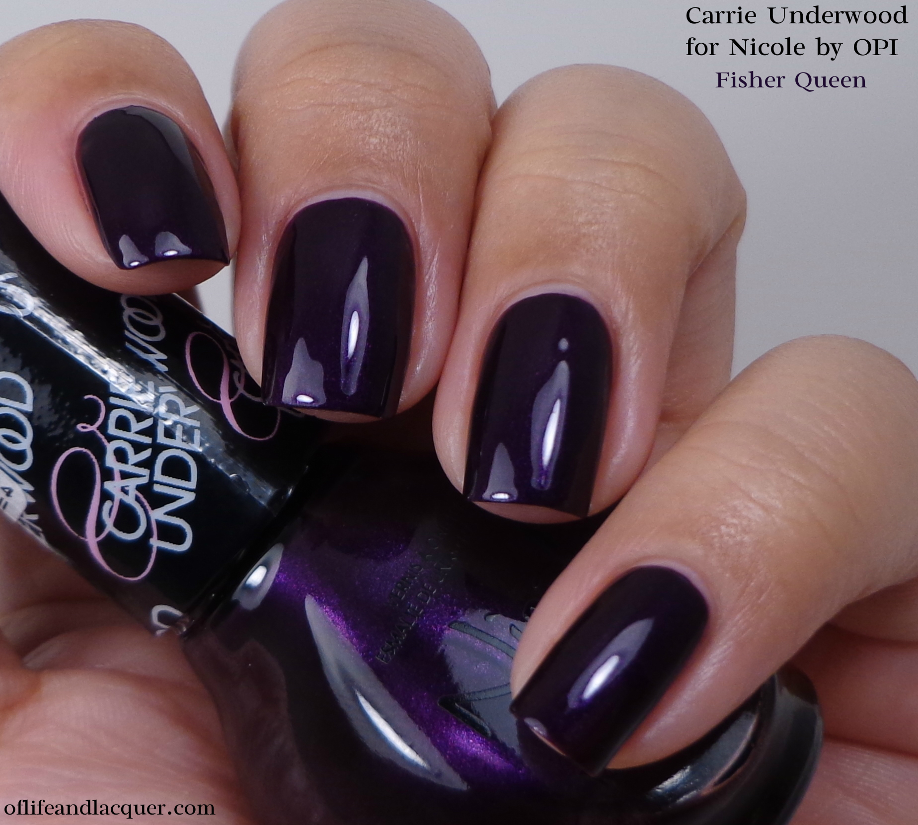 Nicole by OPI Fisher Queen 1a - Of Life and Lacquer