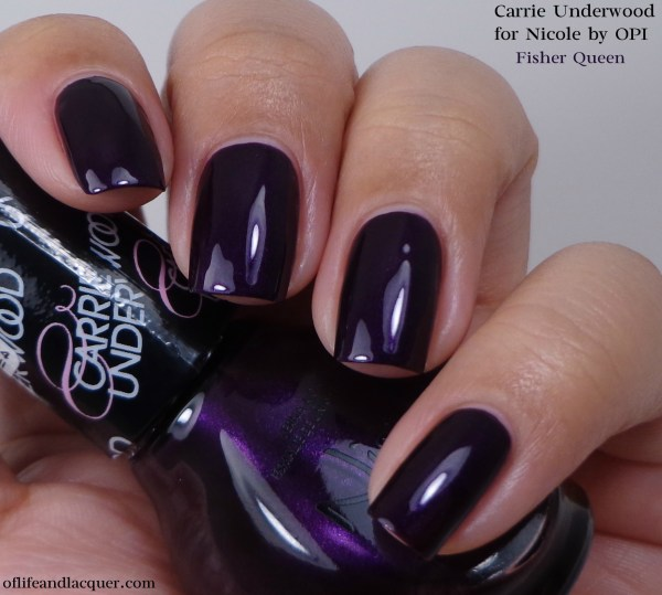 Nicole by OPI Fisher Queen 1a