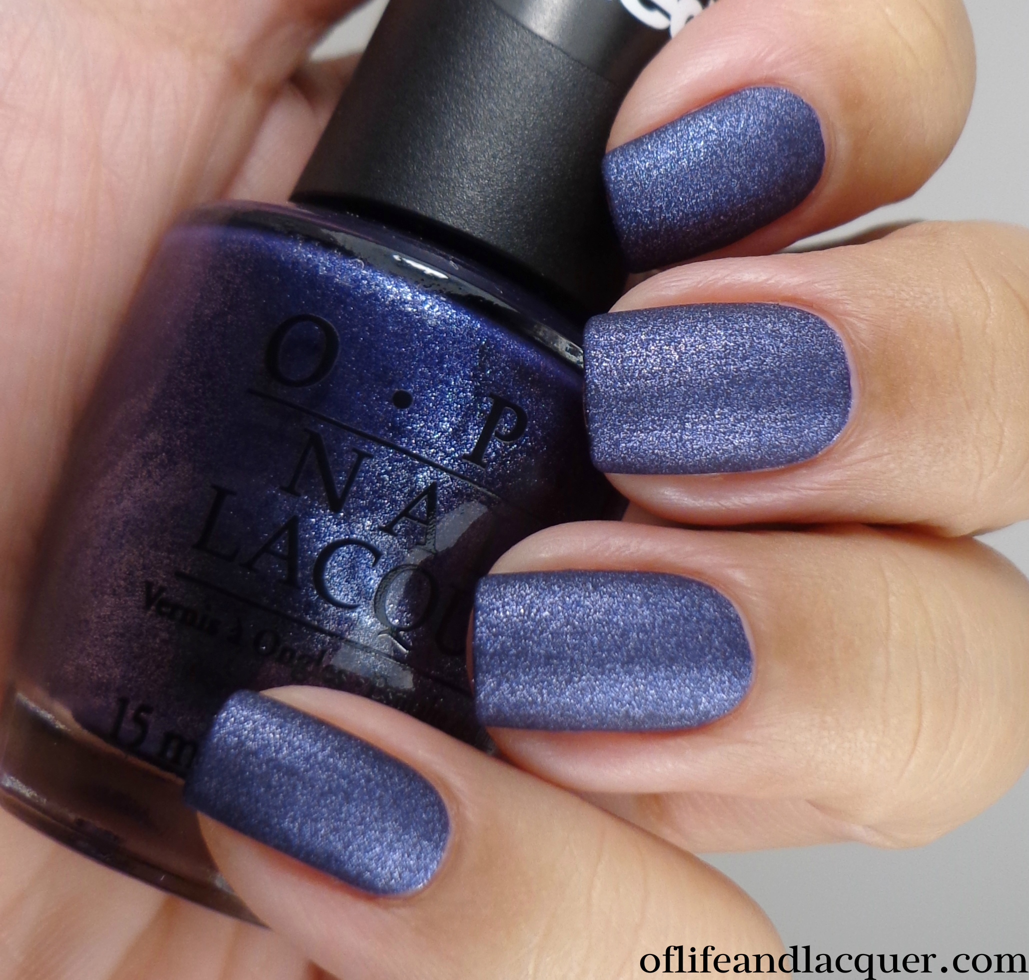 OPI Ink Suede 2a - Of Life and Lacquer