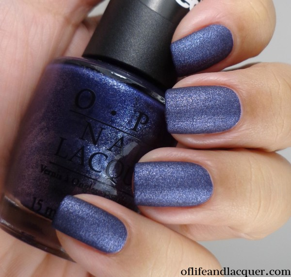 OPI Ink Suede 2a