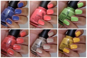 China Glaze City Flourish Collection Spring 2014 – Pollen In Love