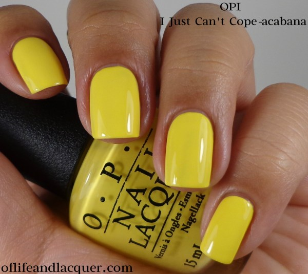 OPI I Just Can't Cope-acabana 1a