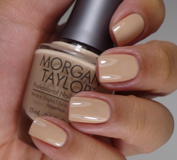 Morgan Taylor New School Nude 2