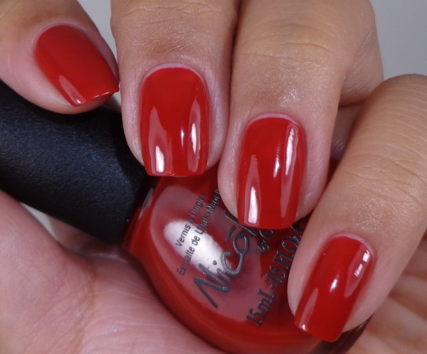 Nicole by OPI Challenge Red-y 1