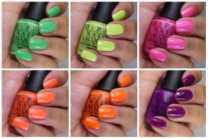 OPI Neons Collection 2014
