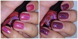 The Lacquer Ring – Pink Holo