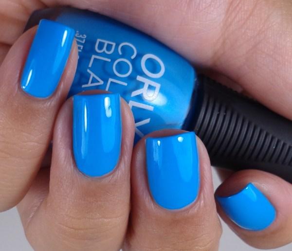 Orly Color Blast Bright Blue Neon 4