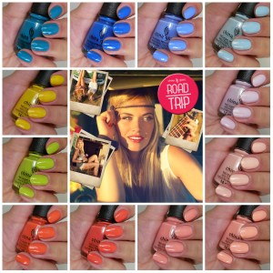 China Glaze Road Trip Collection – Spring 2015