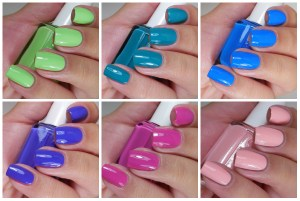 Essie Summer Neons Collection 2015