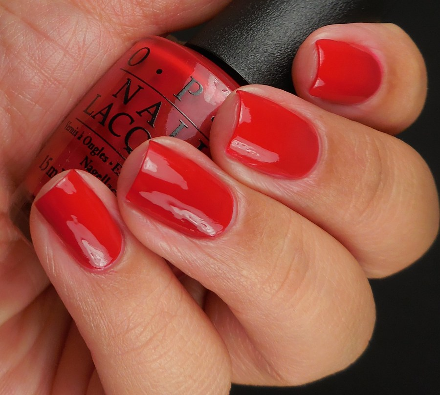 OPI Love Is In My Cards 2