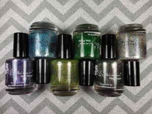 KBShimmer Birthstone Collection (Partial)