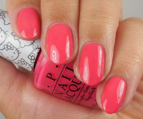 OPI Hello Kitty Collection Spoken From The Heart 1