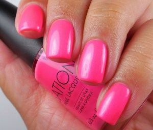 The Lacquer Ring – Neon Pink