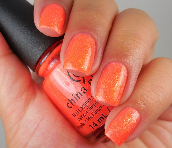 China Glaze Papa Don't Peach 1