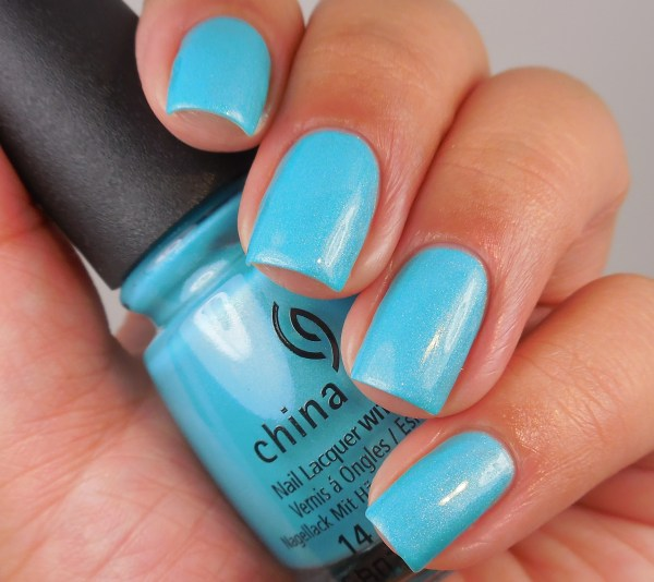 China Glaze What I Like About Blue 1