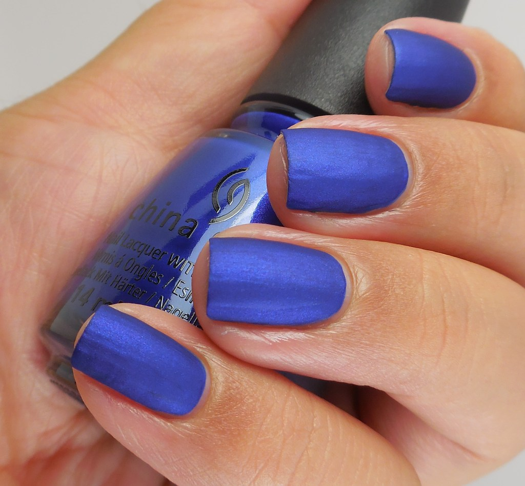 China Glaze Combat Blue-ts 2