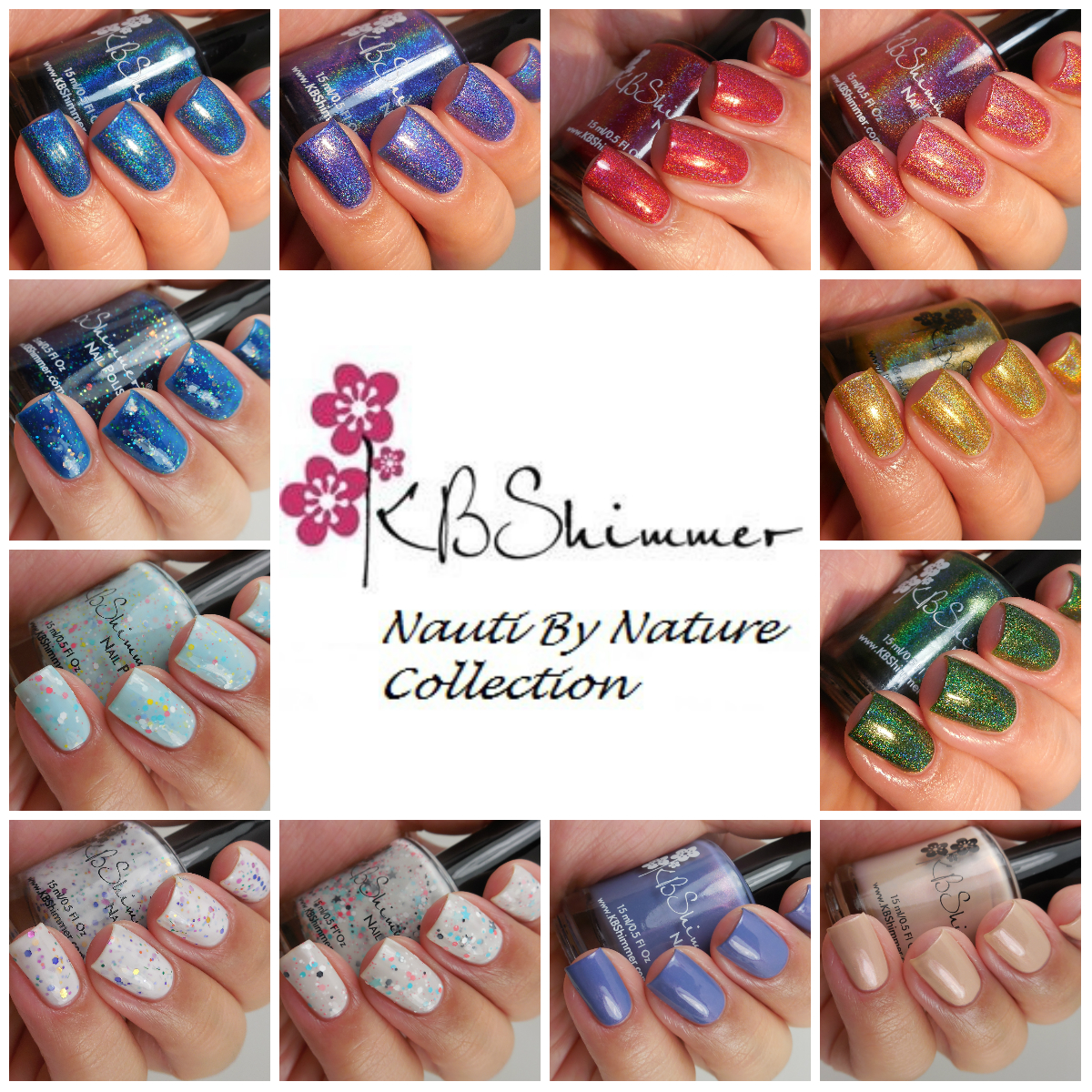 KBShimmer Nauti By Nature Collection Spring 2017