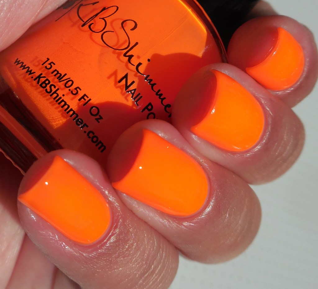 KBShimmer All The Bright Moves Collection Please Don't Glow Girl