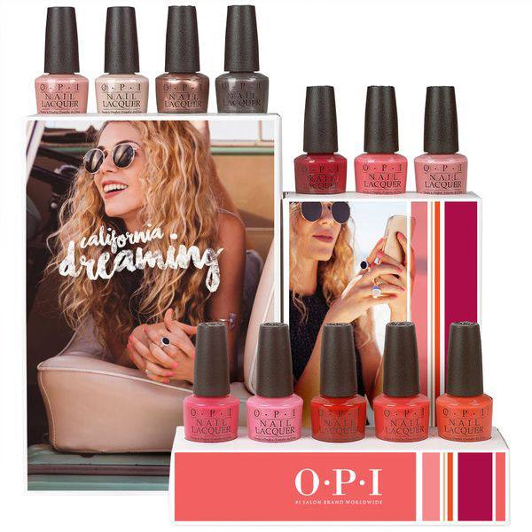 OPI California Dreaming Collection Summer 2017
