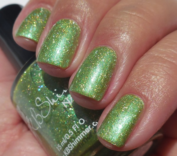 KBShimmer Summer Collection Kiwi Real