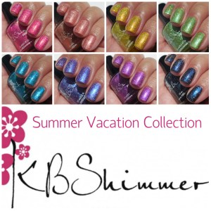KBShimmer Summer Vacation Collection