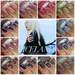 OPI Iceland Collection Fall/Winter 2017