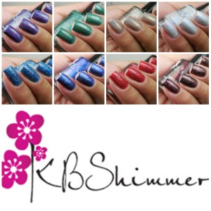 KBShimmer Holo-day Collection 2017