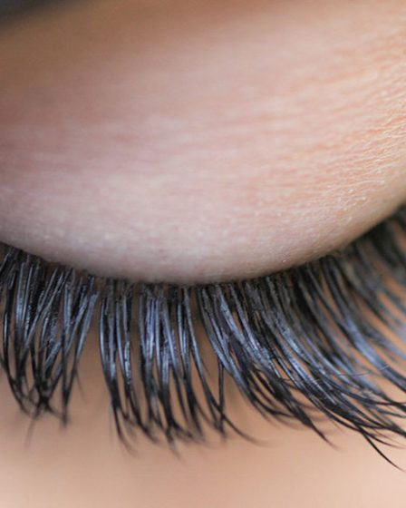 Use coconut oil daily to grow long lush eyelashes.