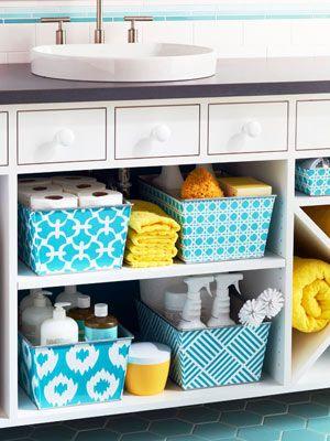 11 Super Creative Ways to Organize Your Bathroom Using Baskets