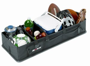 No more rolling groceries! With this trunk organizer for your car, your life will be so much easier!