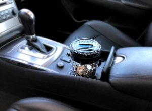 This digital car coin bank is perfect and fits right into your cup holder. No more spare change all over the place!