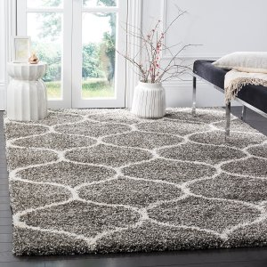 This rugh is luxurious and plush. It will make any room feel extremely cozy.