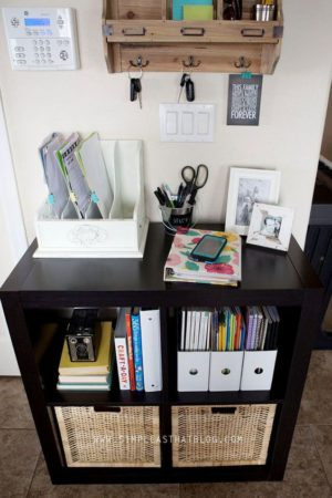 This Command Center Is Perfect For Keeping The Kids Organized For School!