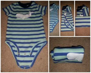 how to fold baby onesie e1501486637483 - 10 Genius Ways to Fold Your Clothes and Save a Ton of Space