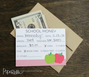 back to school money - 17 Brilliant Back to School Organization Ideas Even Your Kids Will Love