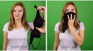 bra smoke mask e1507299079279 - 22 Life or Death Survival Hacks All Women Should Know About
