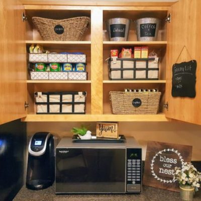 How to Organize Small Kitchen Cabinets: My Mini Makeover