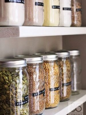 17 Seriously Smart Ways to Organize Your Home With Mason Jars