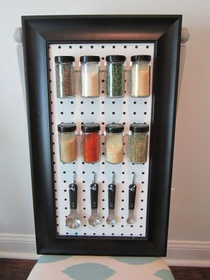 Make You Own Spice Organizer! Repin If You Want This In Your Kitchen!