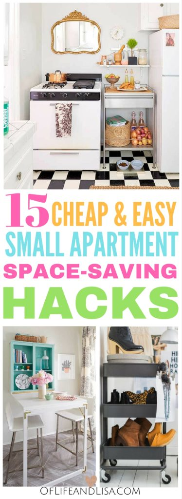 I Love These Small Apartment Storage Ideas. You Can Save So Much Space  Without Having